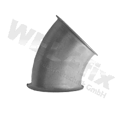 Bogen-GABE-NW080-45°-verzinkt-gepresst