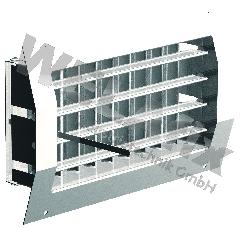 Lüftungsgitter 1225-150 verzinkt