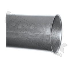 Rohr GAPL-NW100-0.5m-verzinkt-lasergeschweisst