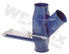 Umschaltweiche NW120-pneumatisch